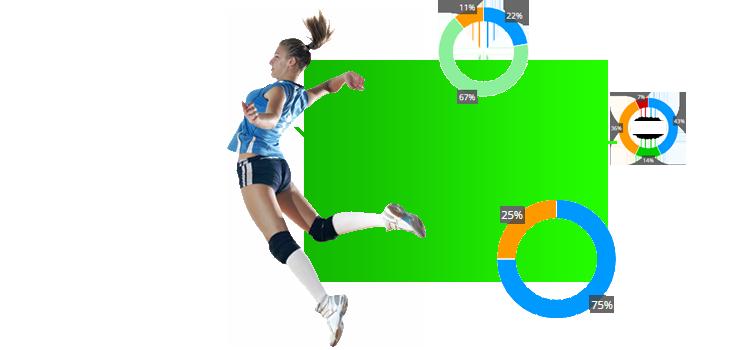 Data volley, scouting, estadísticas en el voleibol