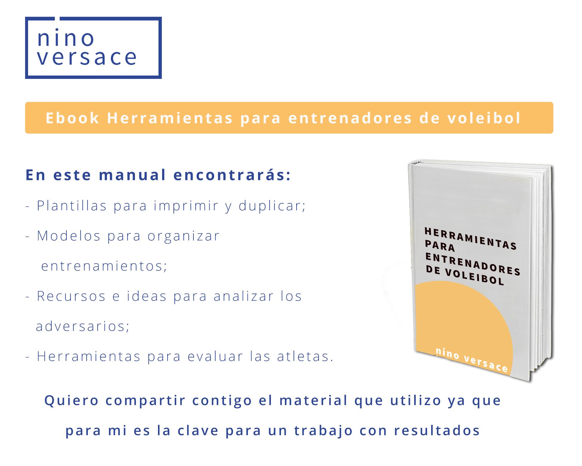 Ebook gratis con herramientas útiles para entrenadores de voleibol